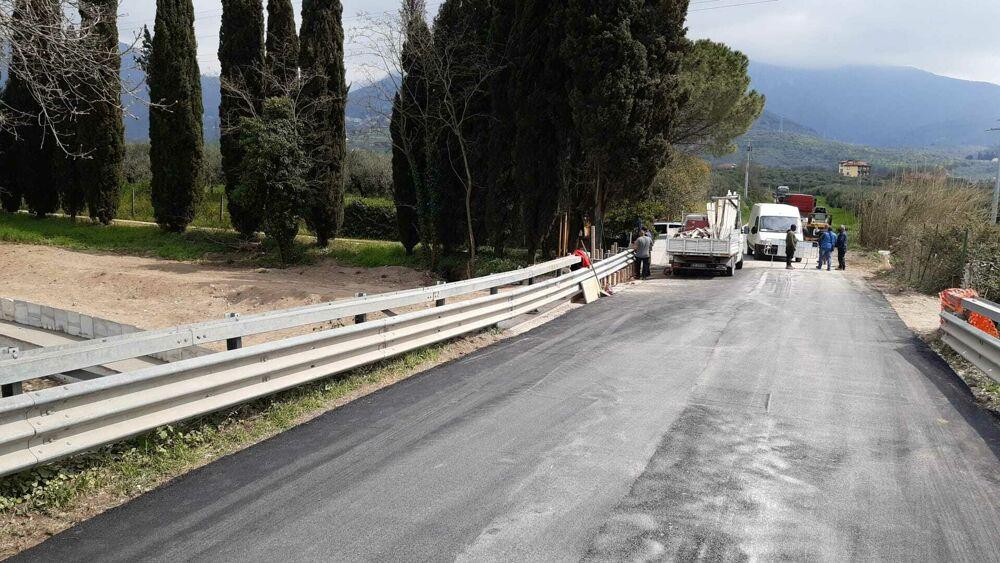 Esondazione Cornea, riapre al traffico la Sp 428 tra Olevano e Montecorvino Rovella