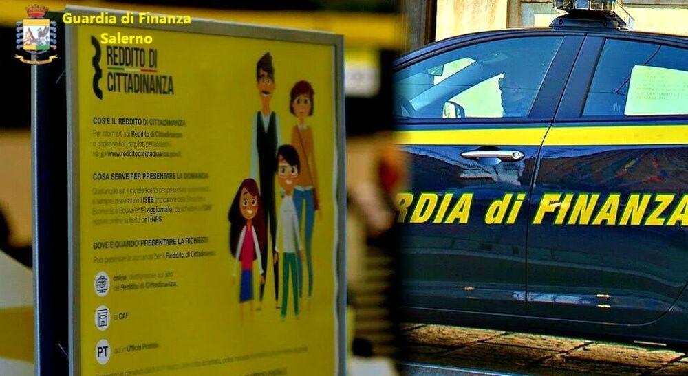 Reddito di cittadinanza ai camorristi e ai loro familiari: 6 denunce a Salerno