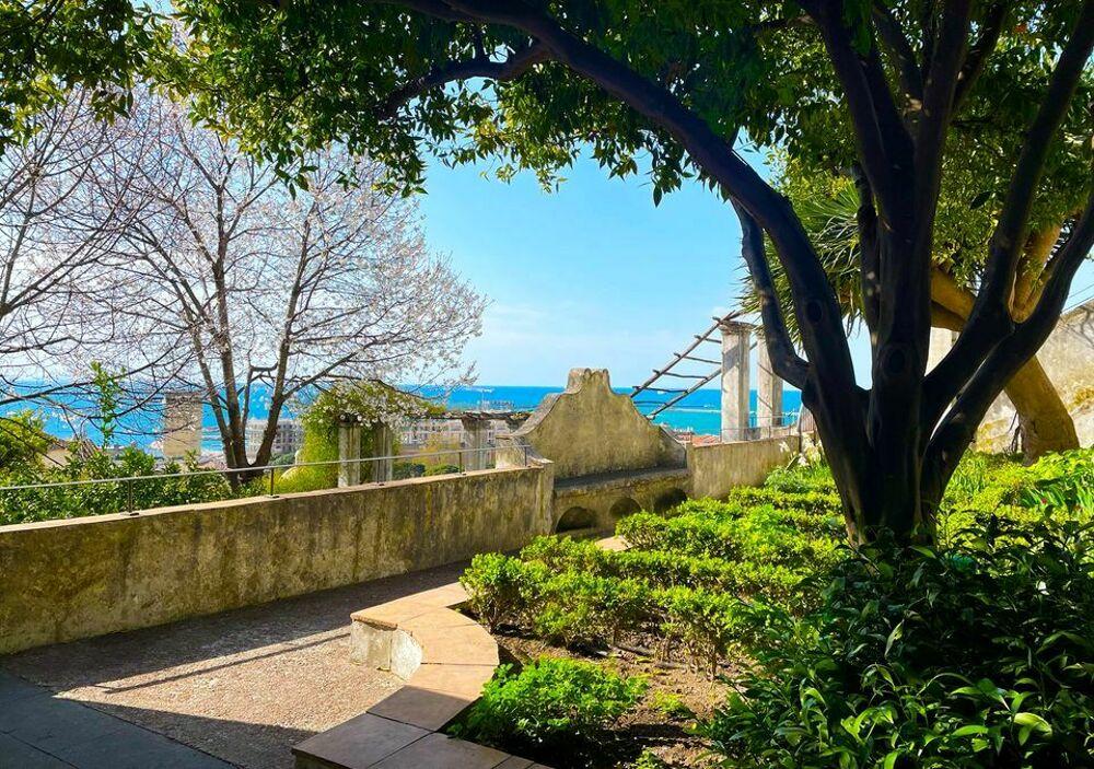 Riapre il Giardino della Minerva: a Salerno c'è aria di primavera