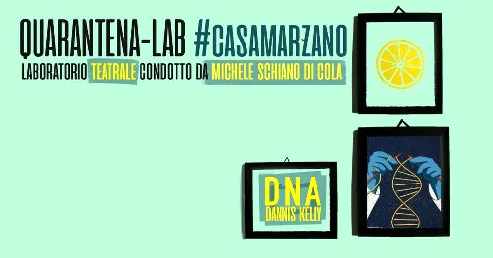 """""""Quarantena Casa Marzano"""": è tutto pronto per il laboratorio teatrale"""