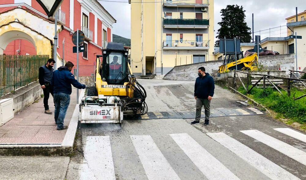 Giffoni Sei Casali: al via i lavori di riqualificazione e sicurezza delle strade