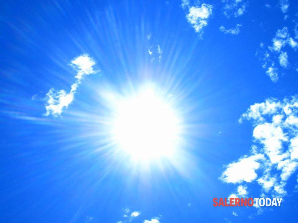 Primi caldi di stagione in arrivo sulla Campania: ecco le previsioni meteo per Salerno