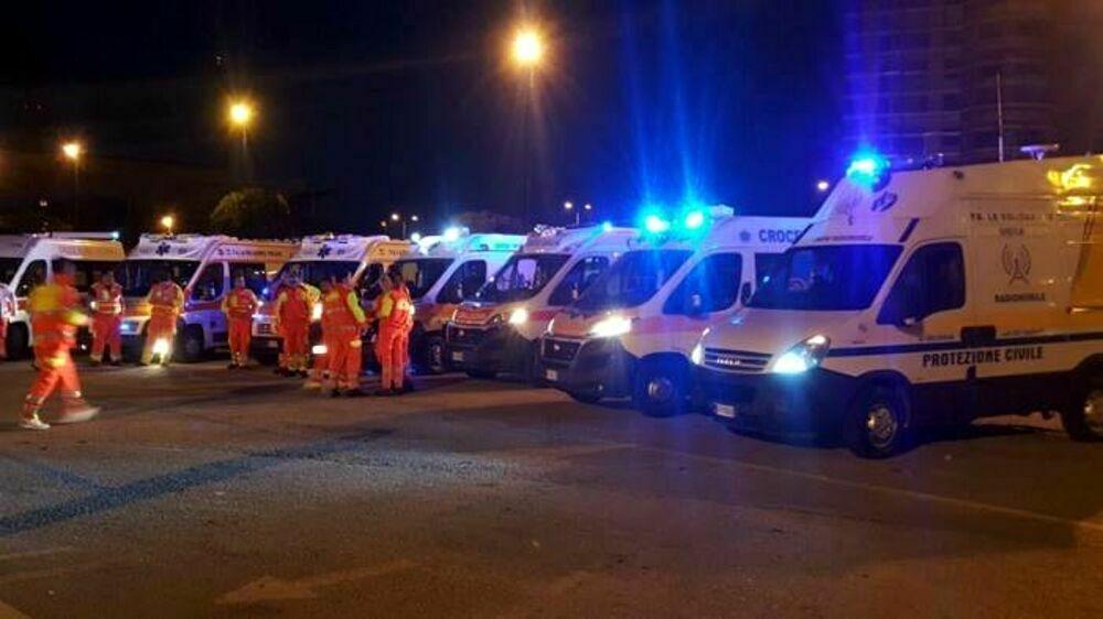 """Primo maggio in zona Gialla: i controlli dei volontari de """"La Solidarietà"""""""