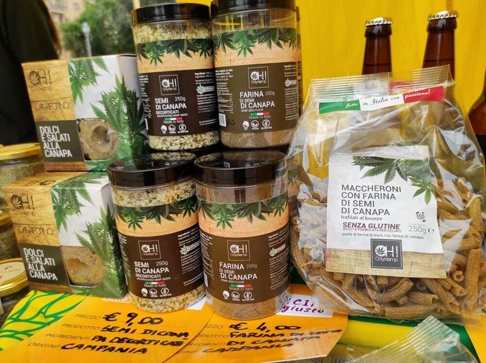 Campagna Amica, approdano ai mercati Coldiretti i prodotti del Centro operativo Sviluppo Canapa del Sud