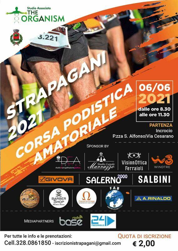 """Tutto pronto per la seconda edizione della """"Strapagani 2021"""": una targa per Francesco De Vivo"""