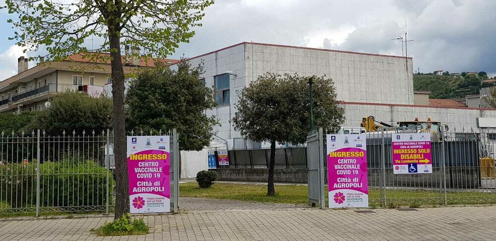 Open week ad Agropoli: non solo Astrazeneca per i vaccinandi, intanto inaugurato il Centro Vaccinale di Coperchia