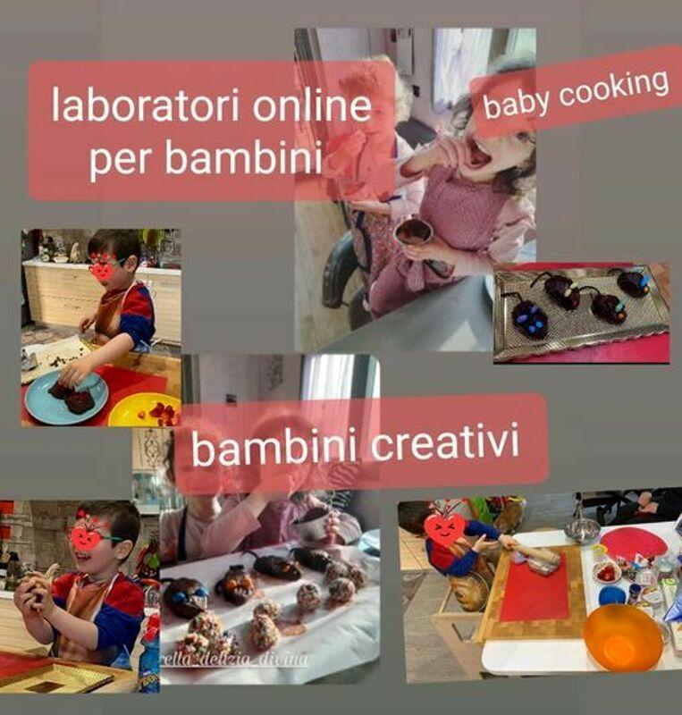 """Laboratori di cucina on line: """"Delizia divina"""" è pronta a sfornare altre novità"""