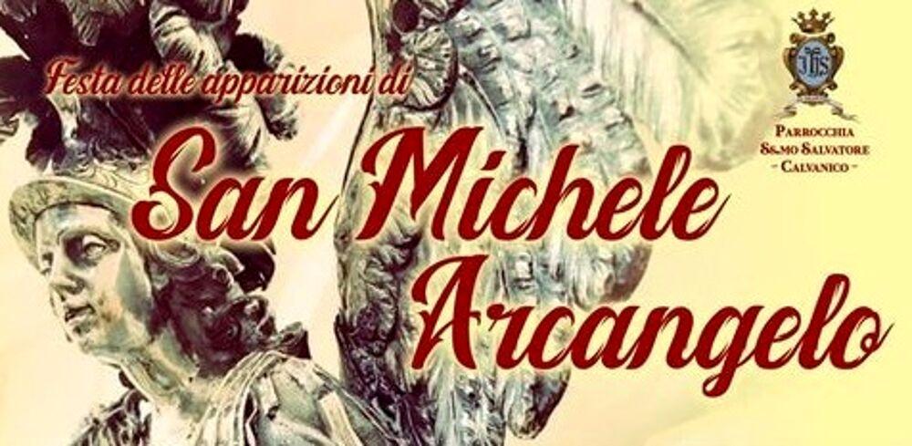 Calvanico celebra la festa dell'apparizione di San Michele Arcangelo