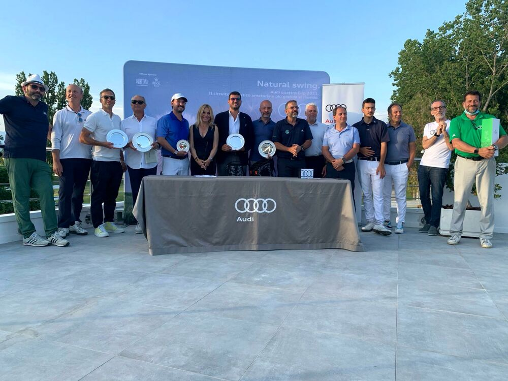 Audi Cup 2021, 80 golfisti al Golf Club Salerno per la finale di Cervia
