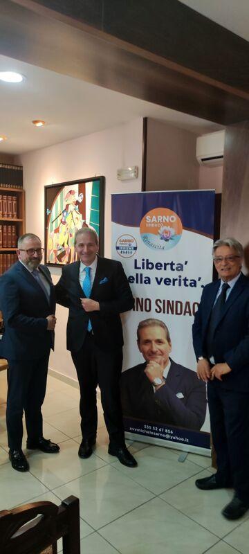 Elezioni 2021 a Salerno, Assotutela e Msi sostengono la candidatura di Michele Sarno