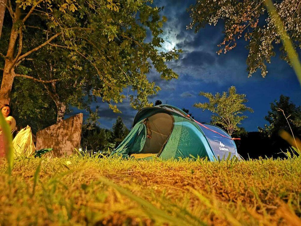 Notte in tenda all'Oasi Alento: cielo, stelle e barbecue
