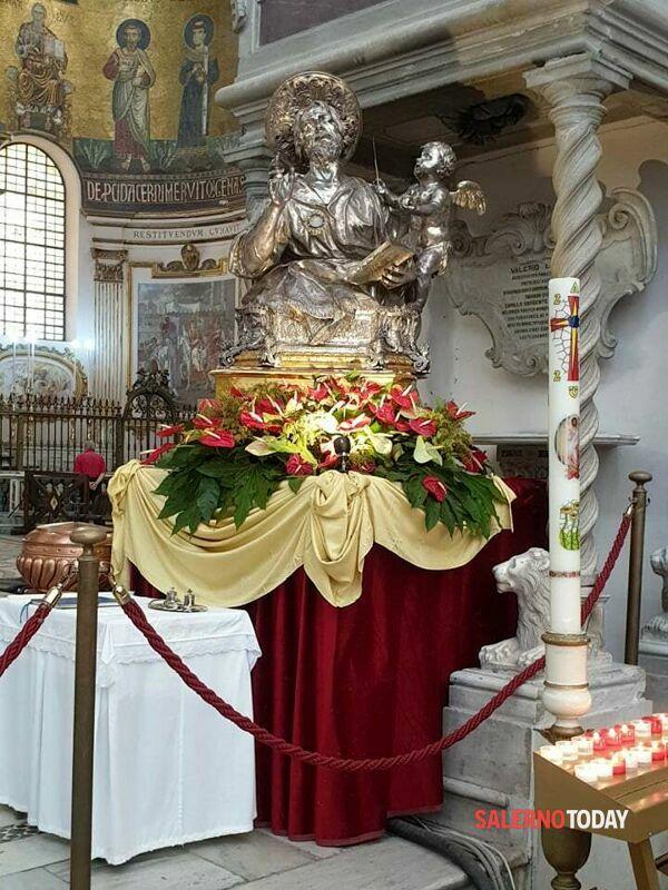 Salerno: San Matteo ed il Miracolo della Manna