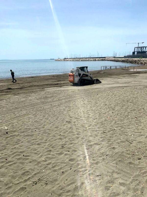 Estate 2021, Salerno Pulita spiana le spiagge di Santa Teresa e Torrione