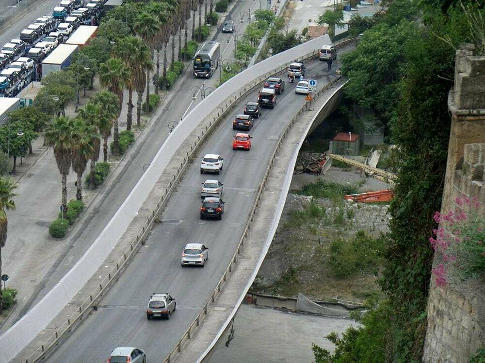Camion distrutto dalle fiamme, riaperto il Viadotto Gatto: le critiche di Cammarota