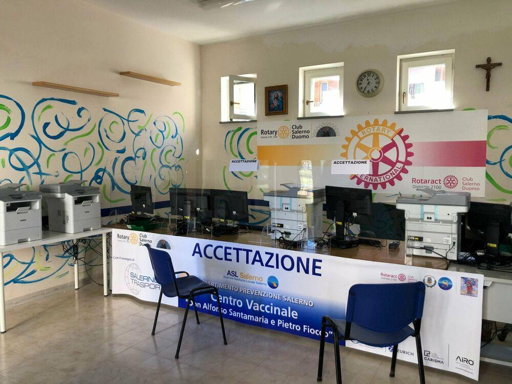Hub vaccinale parrocchia di Pastena: somministrate oltre 900 dosi in due giorni