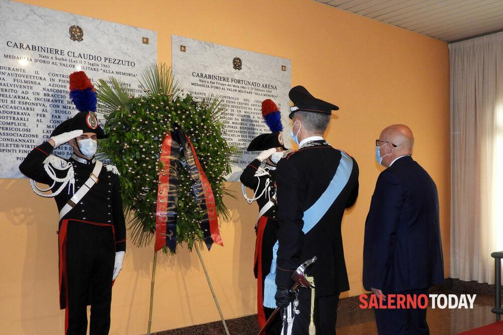 L'Arma dei Carabinieri festa 207 anni dalla fondazione: la cerimonia a Salerno