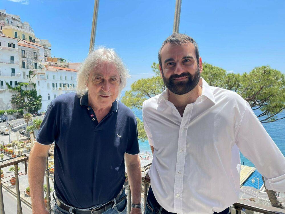 Costiera da Vip, Enrico Vanzina torna ad Amalfi