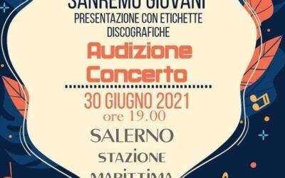 """""""Sanremo Giovani"""": il 30 giugno selezioni a Salerno, ecco come partecipare"""