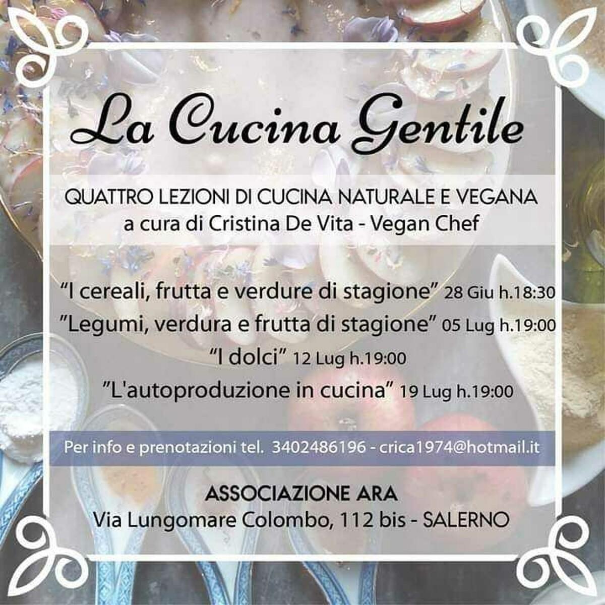 Bontà vegane e autoproduzione: tutti a scoprire i segreti della cucina gentile di Cristina De Vita