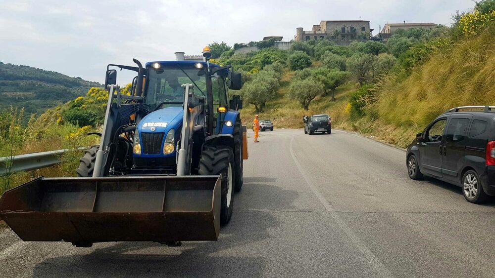"""""""Via del Mare"""" SR 267: proseguono i lavori della Provincia"""