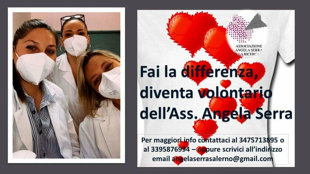 Associazione  Angela Serra Salerno: si ricercano volontari, l'appello