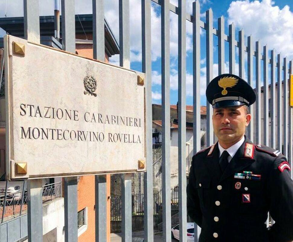 Montecorvino Rovella: Francesco Grimaldi è il nuovo comandante della stazione dei carabinieri