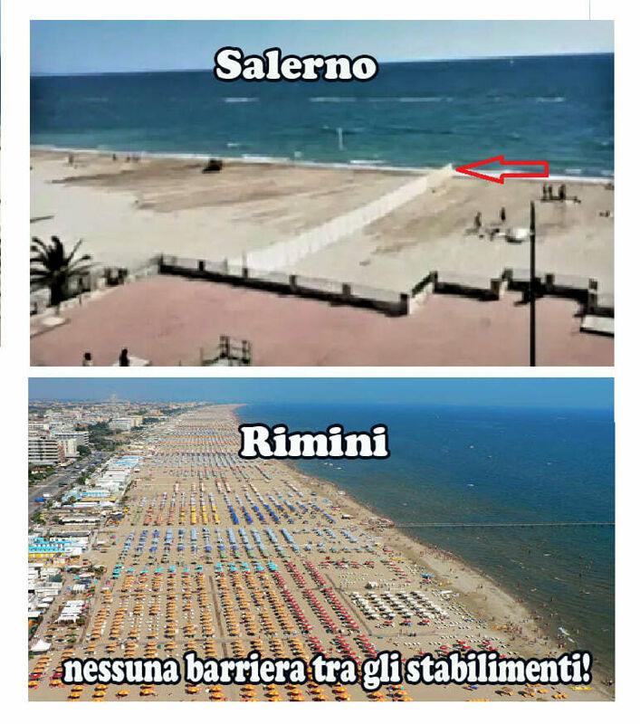 """Nuova spiaggia a Salerno, i salernitani ai gestori dei lidi: """"La battigia non può essere privata"""""""