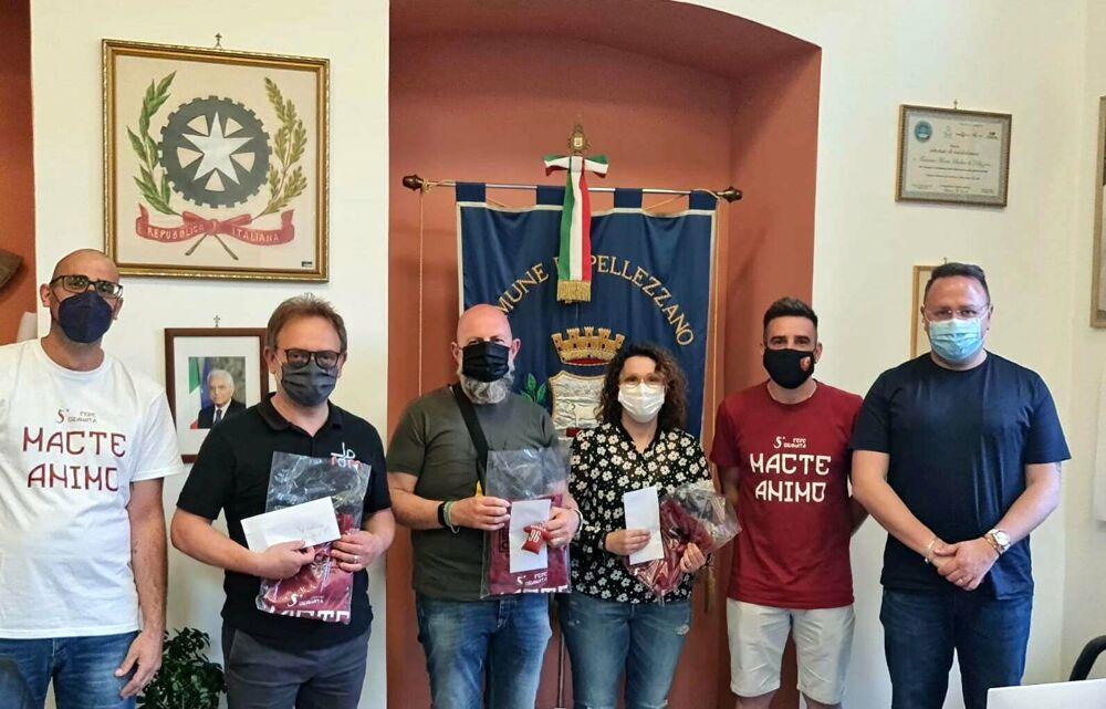 Frana a Pellezzano: il dono del Club Fede Granata di Coperchia alle famiglie