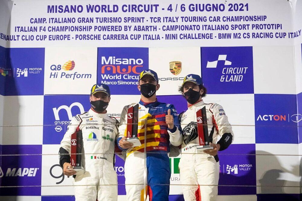 Traguardo ricco per Aci Salerno al Weekend di Misano: i risultati dei driver