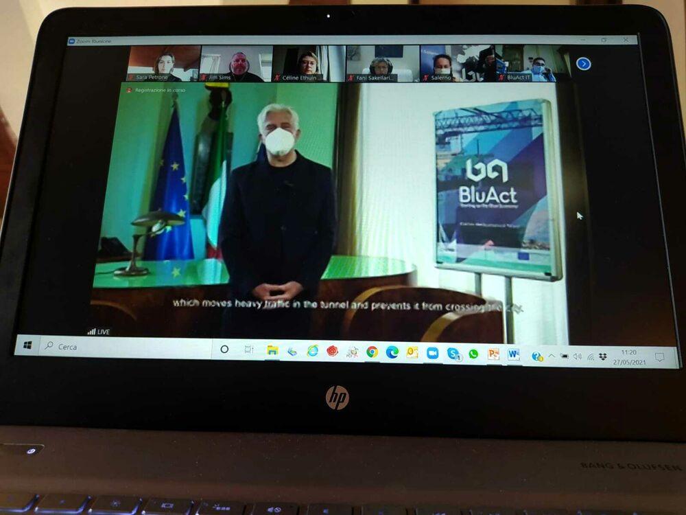 """Salerno e l'economia del mare, terminato il progetto europeo """"BluAct"""""""