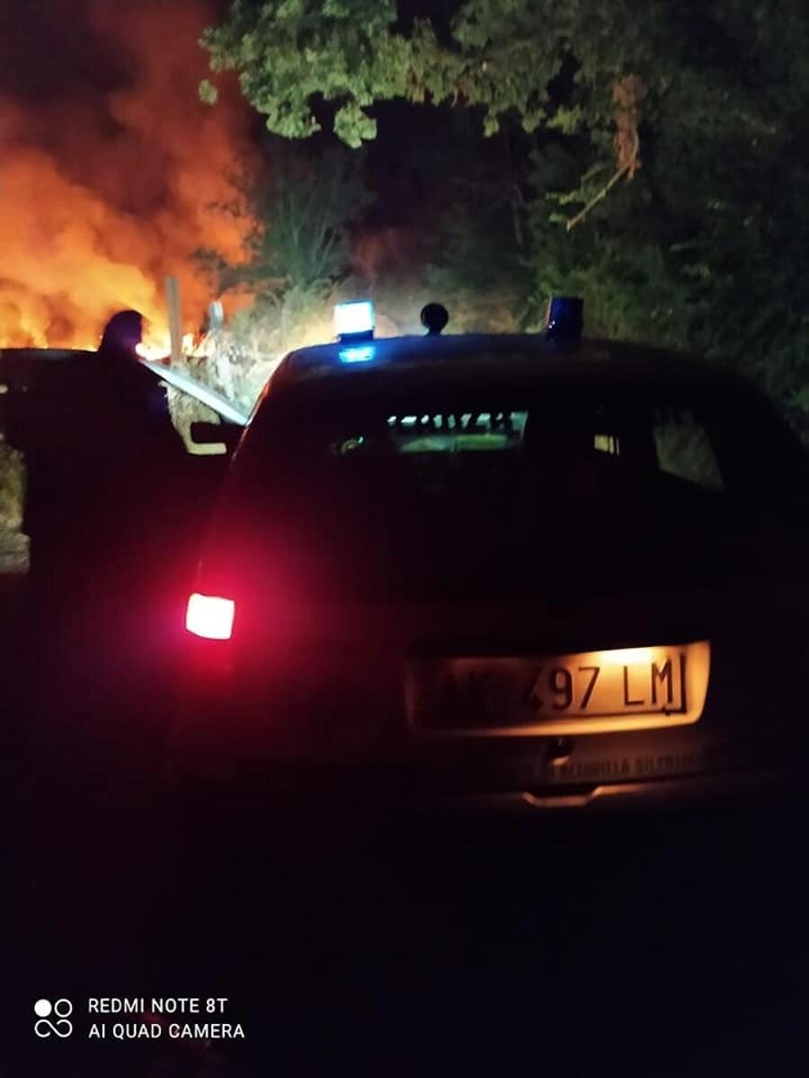 Brucia un terreno ad Altavilla Silentina: corrono guardie zoofile e vigili del fuoco