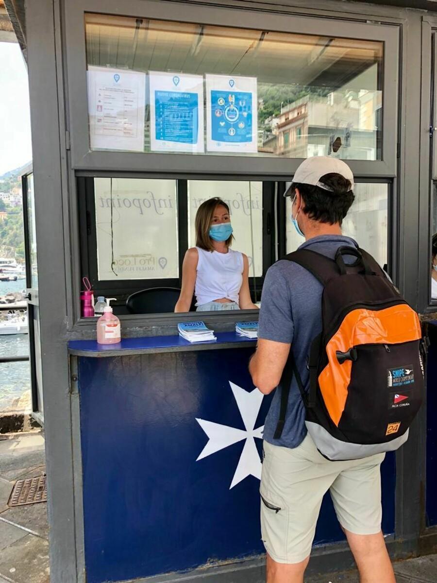 Estate ad Amalfi, riattivato l'infopoint turistico multilingue: tutte le informazioni