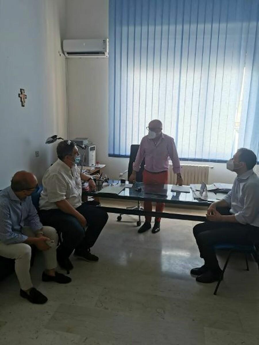 """Aggressioni all'ospedale di Nocera, Torquato e Cuofano incontrano Aprea: """"La sicurezza va garantita"""""""