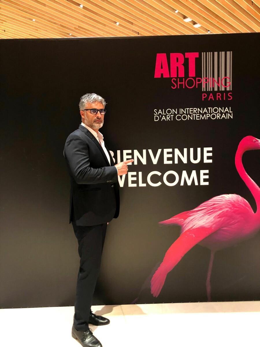 Re d'Italia Art di Marco Giordano presente all'Art Shopping di Parigi
