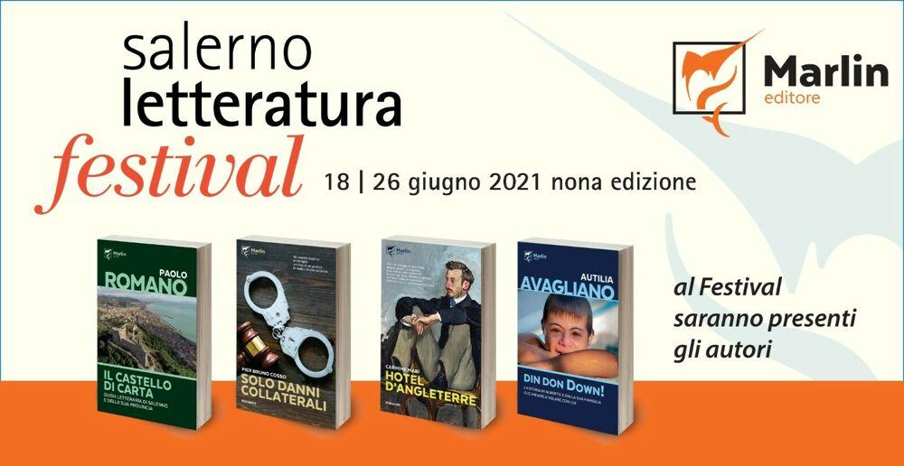 Quattro libri Marlin saranno presentati a Salerno Letteratura Festival