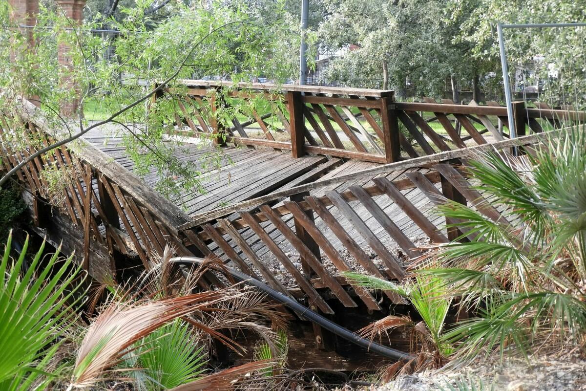 Incuria e degrado: urge manutenzione al Parco del Mercatello, le proteste