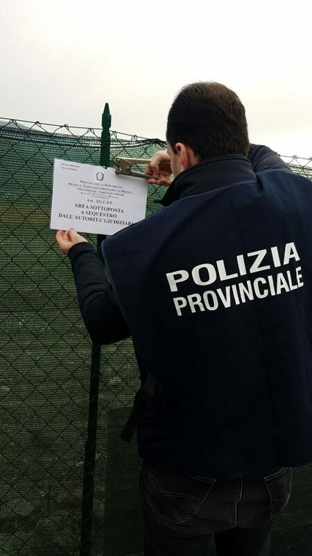 Rifiuti speciali sul terreno: nei guai una ditta di Castel San Giorgio