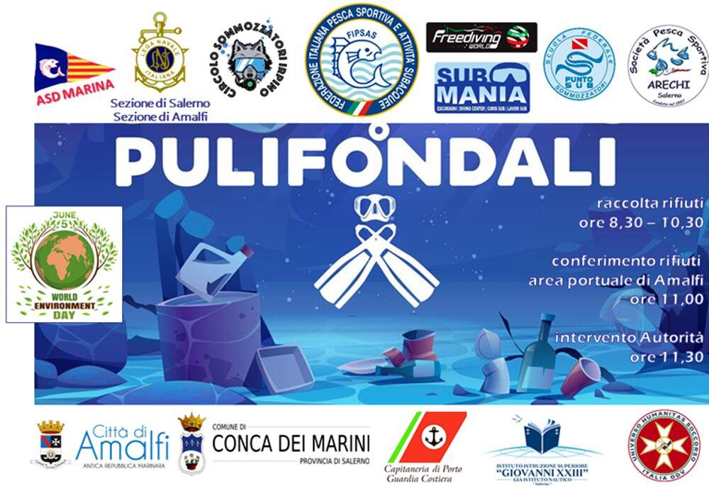 """""""Pulifondali"""", la tutela del mare e l'evento per salvaguardare l'ecosistema marino"""