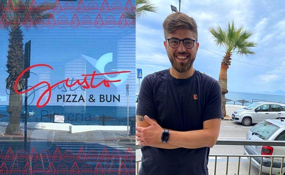 """Taglio del nastro per """"Gusto Pizza&Bun"""" sul lungomare di Agropoli"""
