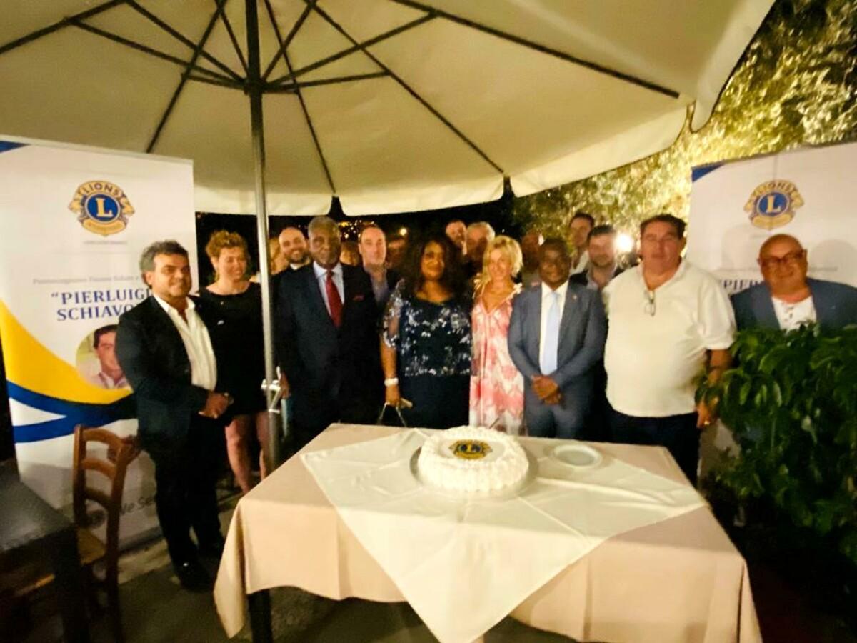 """Lions Club: inaugurazione del nuovo club satellite """"Pierluigi Schiavone"""""""