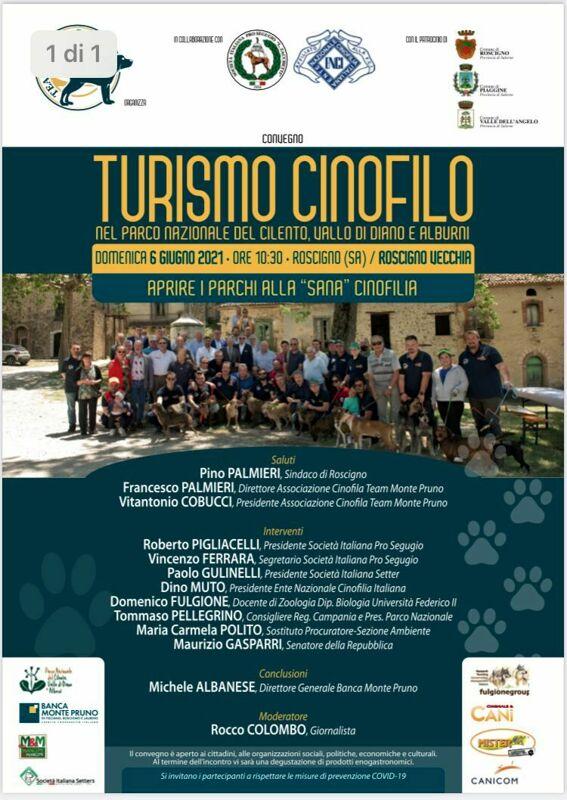 Turismo cinofilo, parterre d'eccezione al convegno organizzato a Roscigno Vecchia