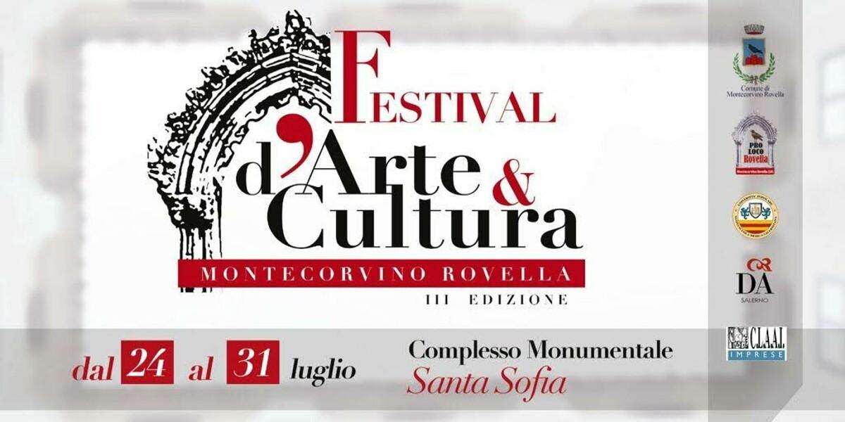"""Montecorvino Rovella, al via la terza edizione del """"Festival d'Arte e Cultura"""""""