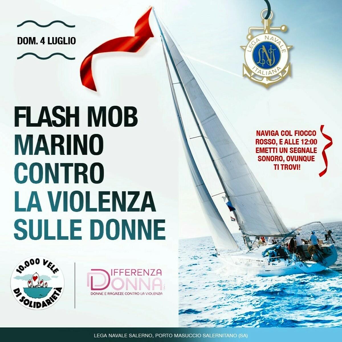 E' tutto pronto per il flash mob marino contro la violenza di genere