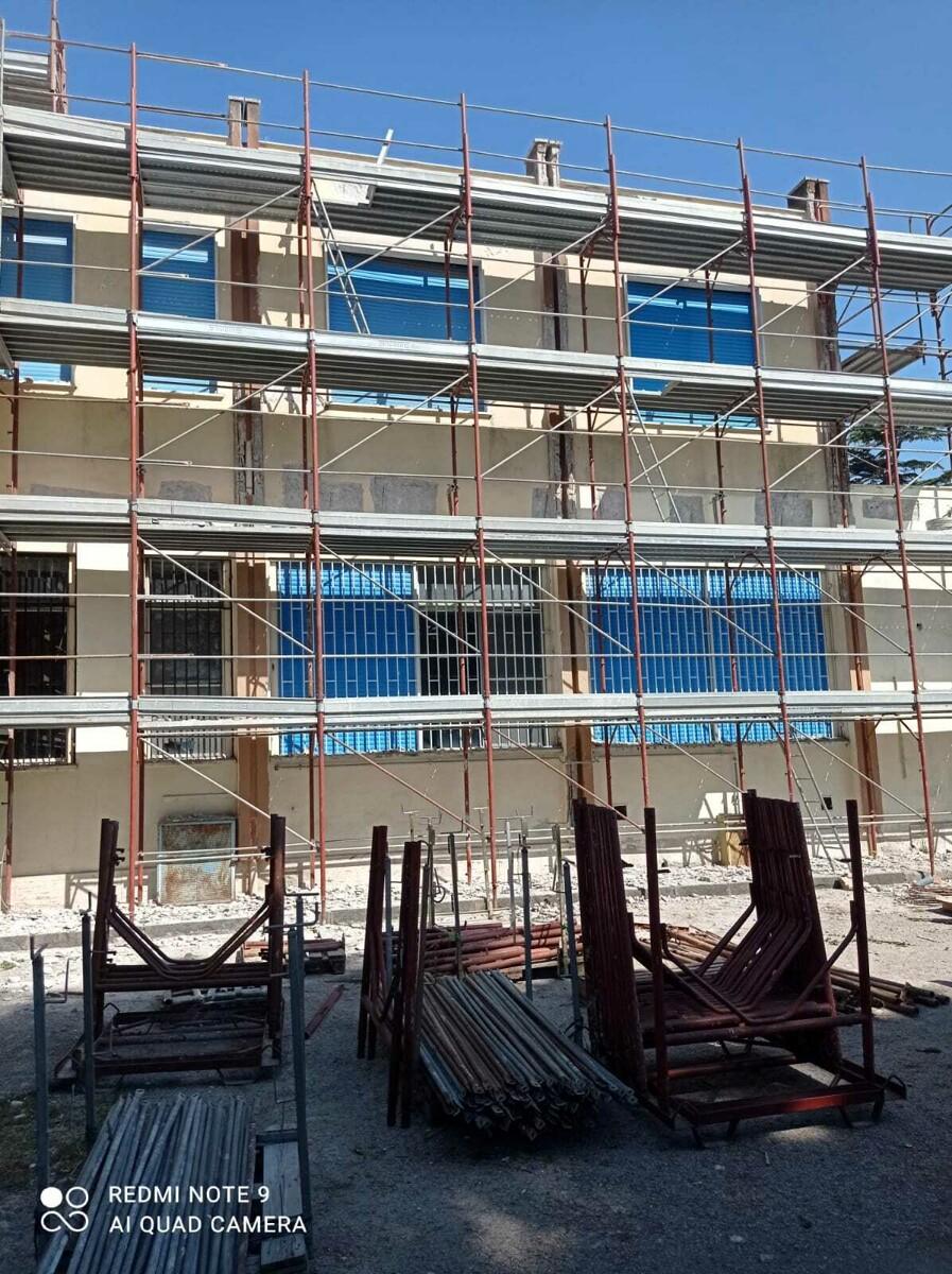 Ipseoa di Gromola: al via i lavori di rifacimento delle facciate