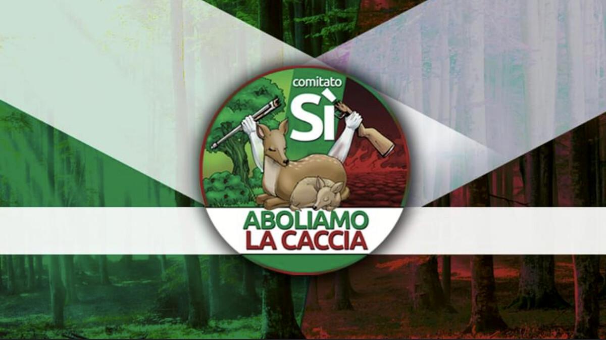 """""""Aboliamo la caccia"""", a Salerno parte raccolta firme per referendum"""