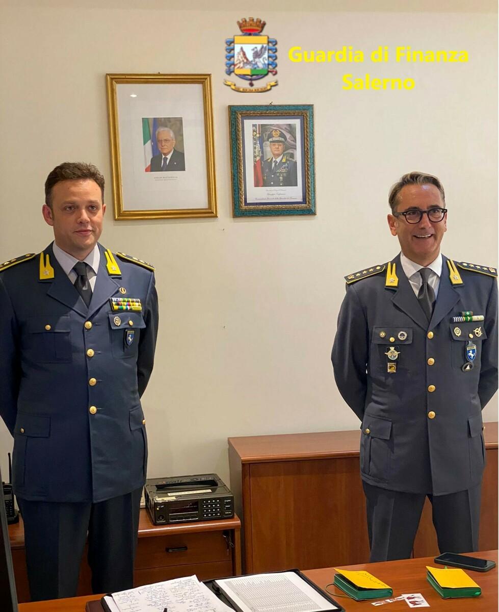 Guardia di Finanza Salerno, cambio al vertice del Nucleo di Polizia Economico-Finanziaria
