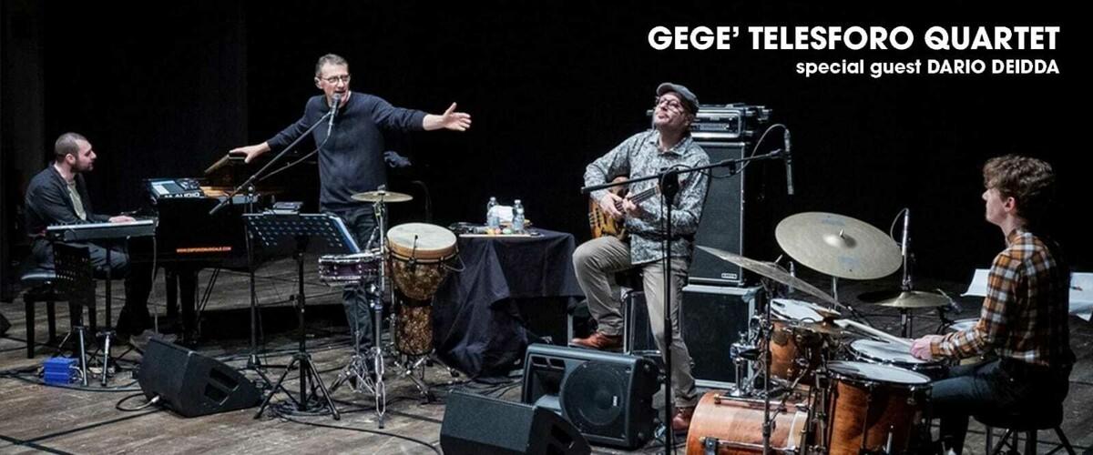 """Gegè Telesforo ed il suo """"4Tet"""" a Cava de' Tirreni il 15 luglio 2021"""