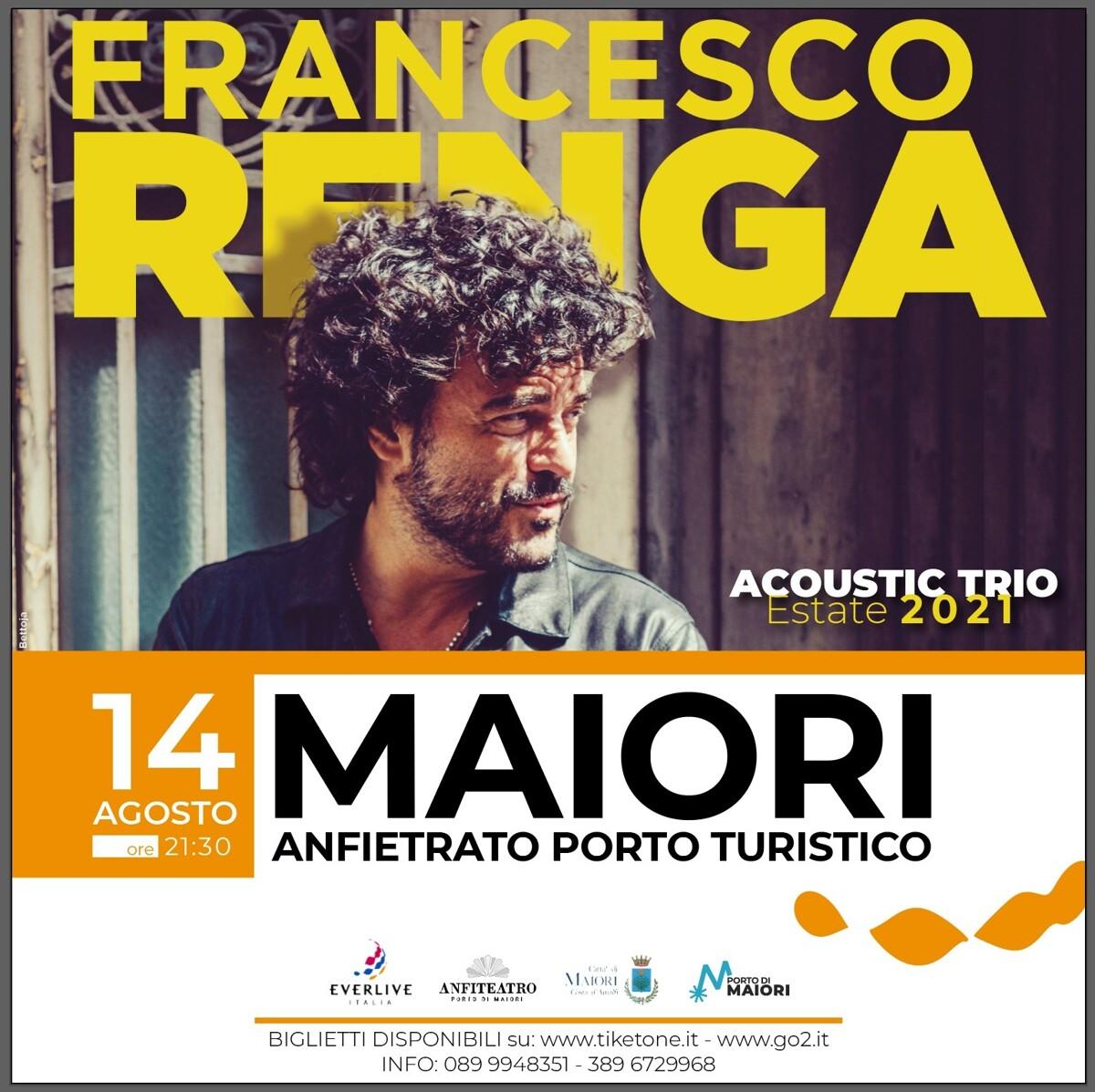 Maiori, arriva Francesco Renga: accordo Everlive – Travelmar