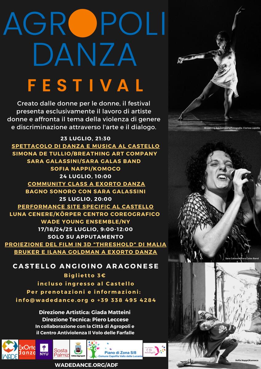 """Agropoli, parte il """"Danza Festival"""": uno spettacolo fatto dalle donne per le donne"""