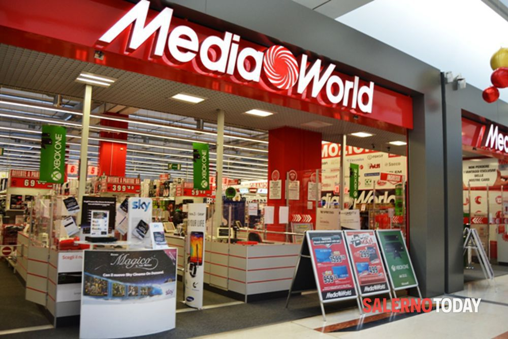 Novità a Salerno: dall'1 luglio, apre un negozio Mediaworld in città